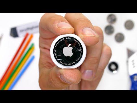 Apple AirTag Teardown! - How easy does it scratch?