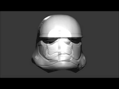 3D Printable Episode VII Stormtrooper Helmet - Part guide