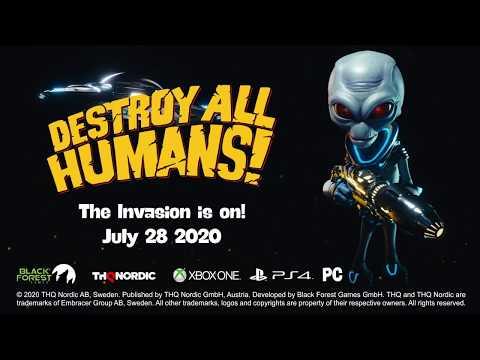Destroy All Humans! - Release Date Trailer