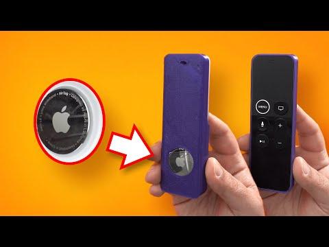 AirTag Apple TV Remote Case - Never Lose It Again!