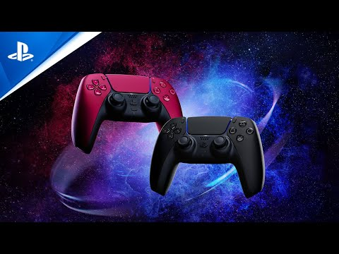 DualSense Cosmic Red & Midnight Black Reveal Trailer | PS5