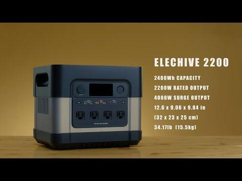 Zero Breeze ElecHive 2200 Portable Power station