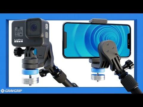 GravGrip™   Battery Free Camera Stabilization