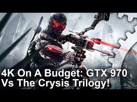 [4K On A Budget] GTX 970 vs The Crysis Trilogy!