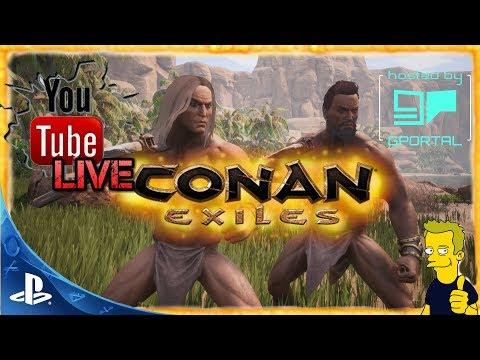 Conan Exile PS4 PvP Server