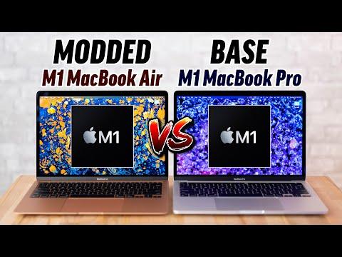 Modded M1 MacBook Air vs M1 MacBook Pro: $30 Thermal FIX