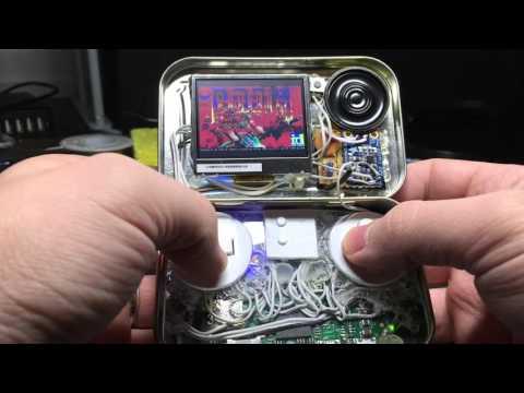 MintyPi - a Raspberry Pi Zero Gaming handheld inside an Altoids tin