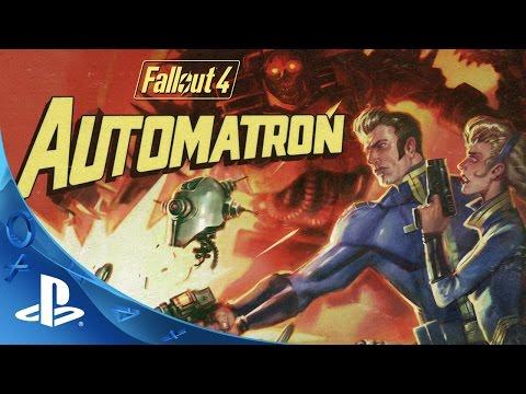 Fallout 4 - Automatron Official Trailer | PS4