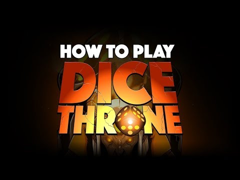 Dice Throne - How To Play (Fun tabletop game!)