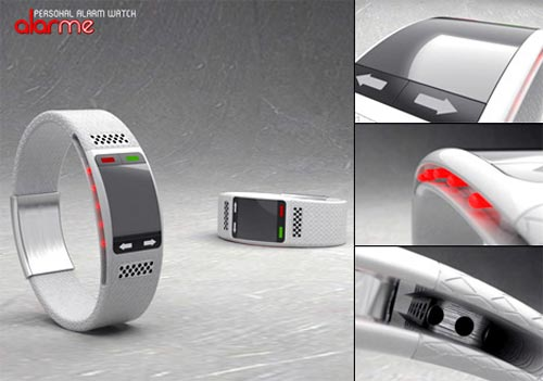 Concept - The AlarMe Watch