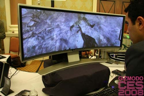 Alienware's Giant Gaming Monitor