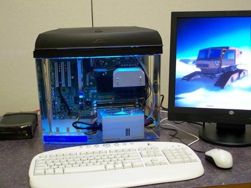Aquarium PC Mod - Fully Submerged PC