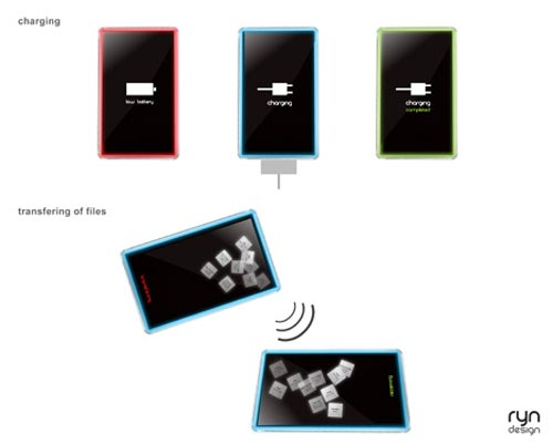 Geeky Concepts - The Bello Touchscreen PMP