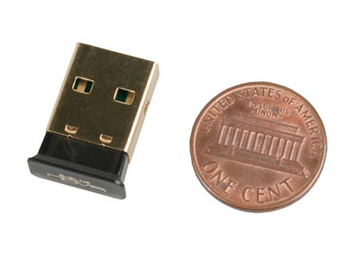 The World's Smallest Bluetooth Adapter