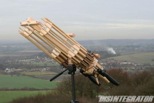 The Disintegrator Rubber Band Gun