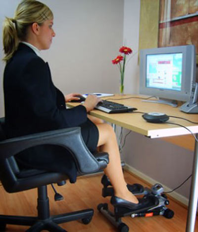 Exercise At Your Desk With The Gamercize Pc Sport Stepper