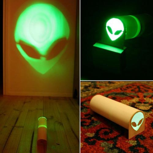 Geeky Toys - The Green Alien Projector