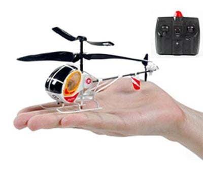Geeky Toys - The Mini Hughes R/C Helicopter