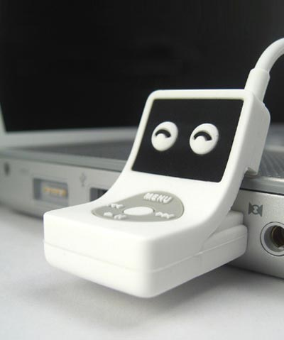 Geeky Gadgets - The Tiny iPod inspired USB Flash Drive