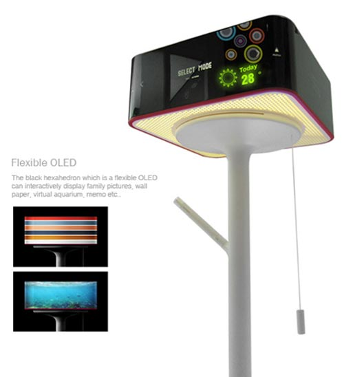 Geeky Concepts - The Turning Lamp PC