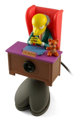 Mr Burns USB Webcam