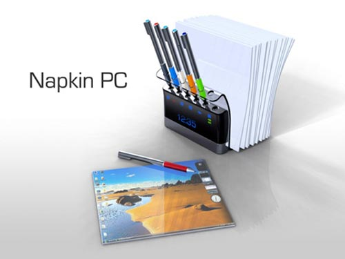 Geeky Concepts - The Napkin PC