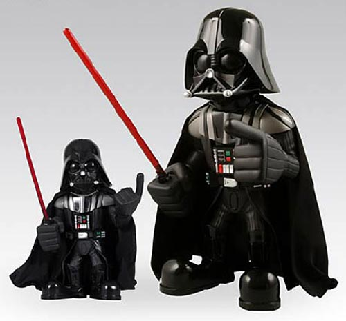 oversized darth vader doll