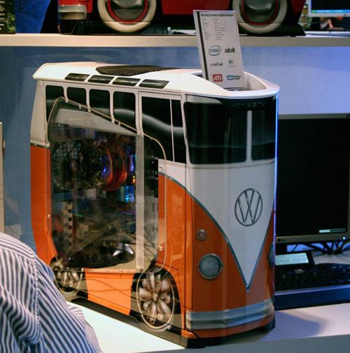 PC Mods - The VW Camper Van Case Mod