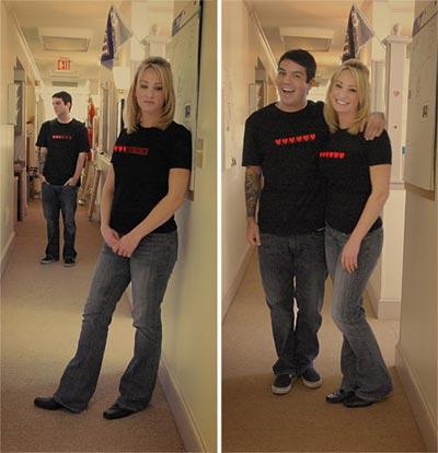 Geeky Clothing - 8 Bit Dynamic Life Shirt