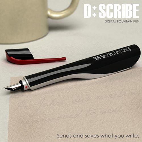Cool Concepts – The D:Scribe SMS and Email Pen