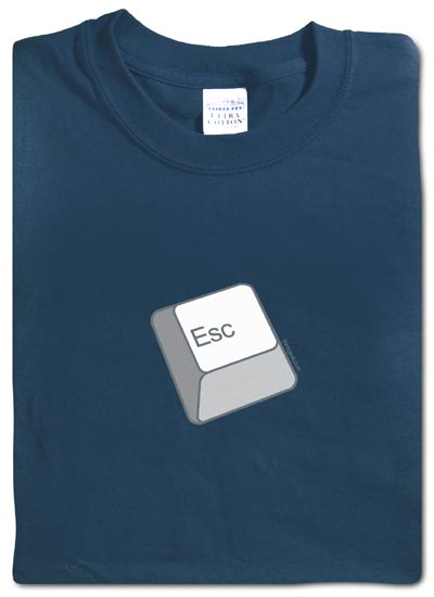 Geeky Clothing - The Esc Key T-Shirt