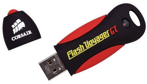 Corsairs new super fast 16GB Thumb Drive - The Flash Vovager GT