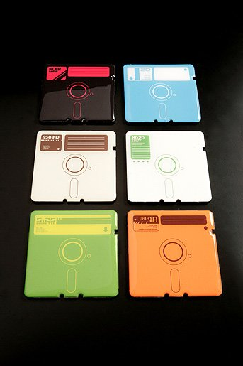 Totally Geeky – The Floppy Disk Coasters