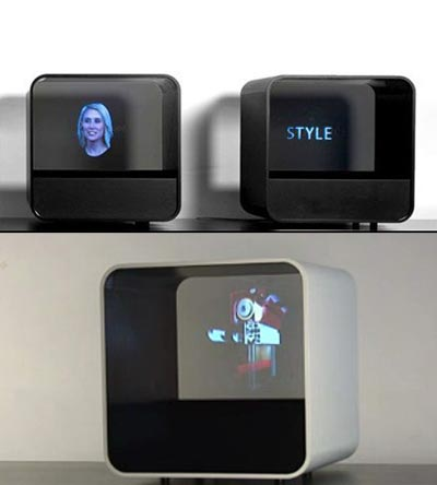 Holocube brings 3D to your desk