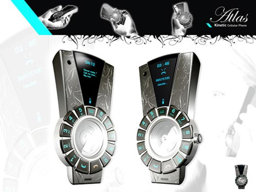 Cool Concepts – The Kinetic Cellphone