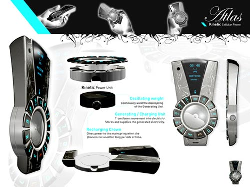 Cool Concepts - The Kinetic Cellphone