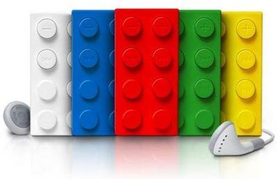 Cool Gadgets - The Lego Brick MP3 Player