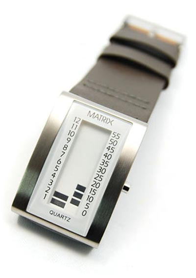 Geeky Watches - The Matrix M0001 Retro LCD Watch