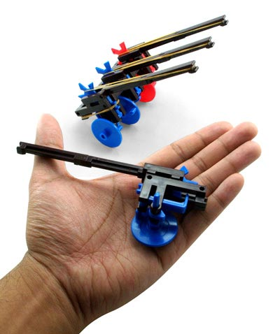 Geeky Toys – The Mini Rubber Band Artillery