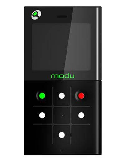 The Worlds Lightest Phone - Modu