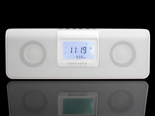 Wake up to your favourite tunes with this MP3 player alarm clock