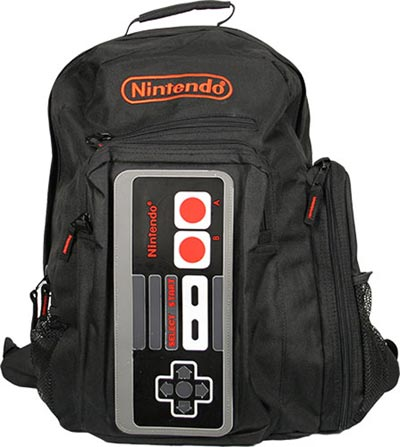 Geeky Accessories - The NES Controller Backpack