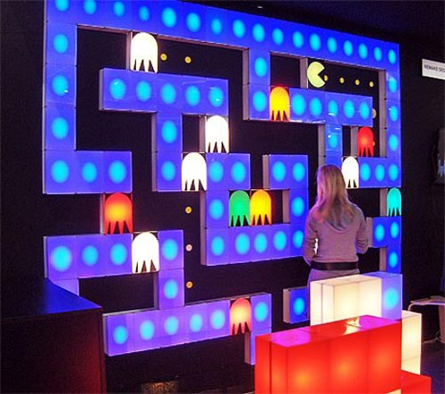 Geeky Lighting - The Pac-Man Lighting Blocks
