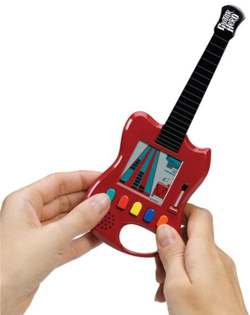 Geeky Gaming - Pocket Guitar Hero Arcade Game