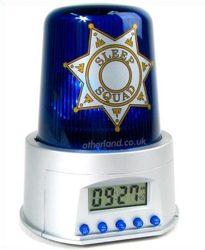 Geeky Gadgets - The Police Alarm Clock