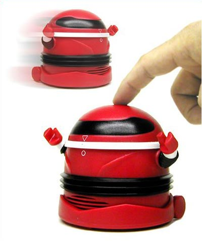 Fun Gadgets – The Desktop Robo Vacuum