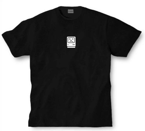 Geeky Clothing - The Sad Mac T-Shirt