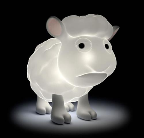 USB Seamour Sheep Lamp