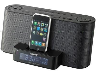 Sony's new iPhone Alarm Clock Dock