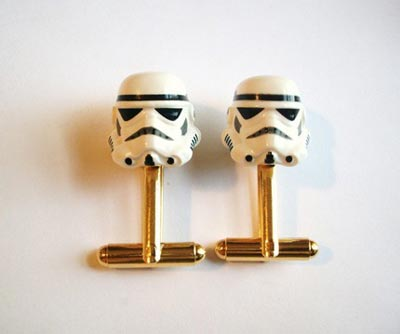 Geeky Accessories - The Star Wars Storm Trooper Cufflinks